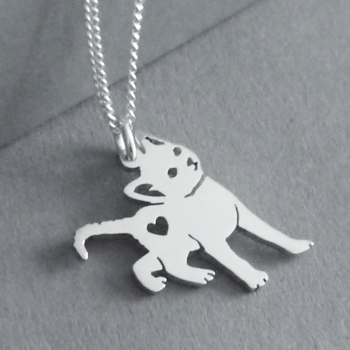 Kitty Cat Pendant on Chain