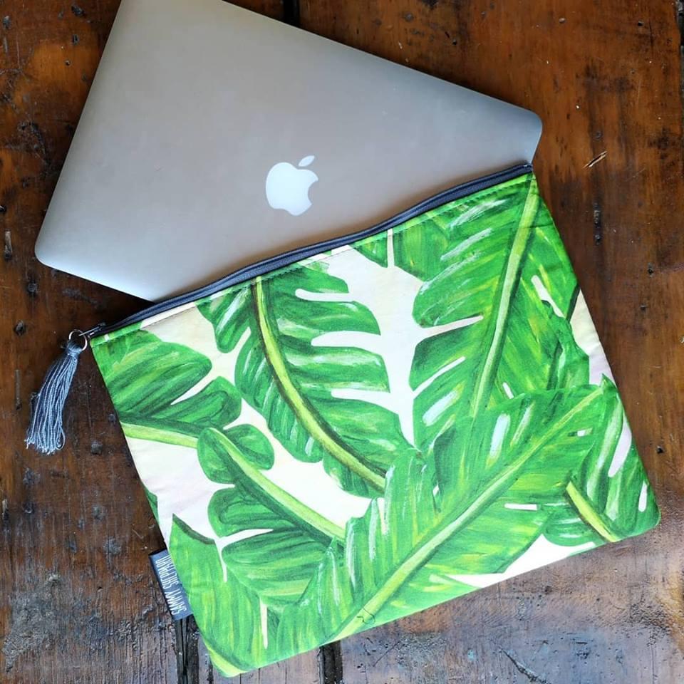 Laptop bag Palm Leaves