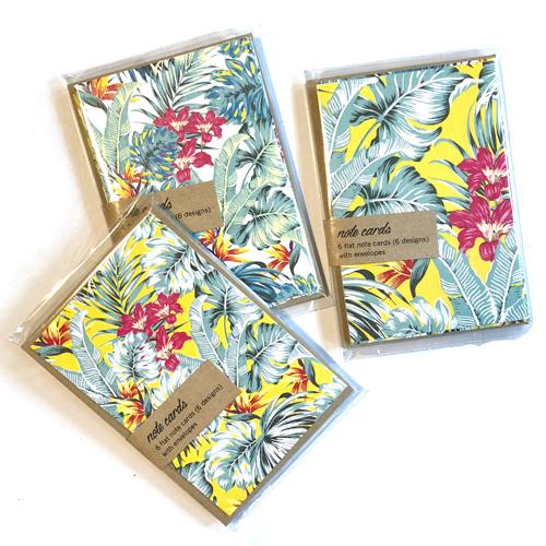 Retro tropics notecards