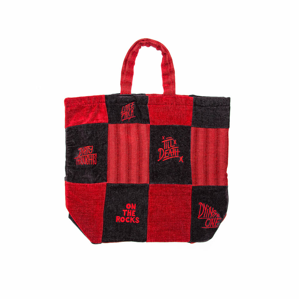 'Till Death' Patchwork Tote Bag - Good Good Good x Studio Muti