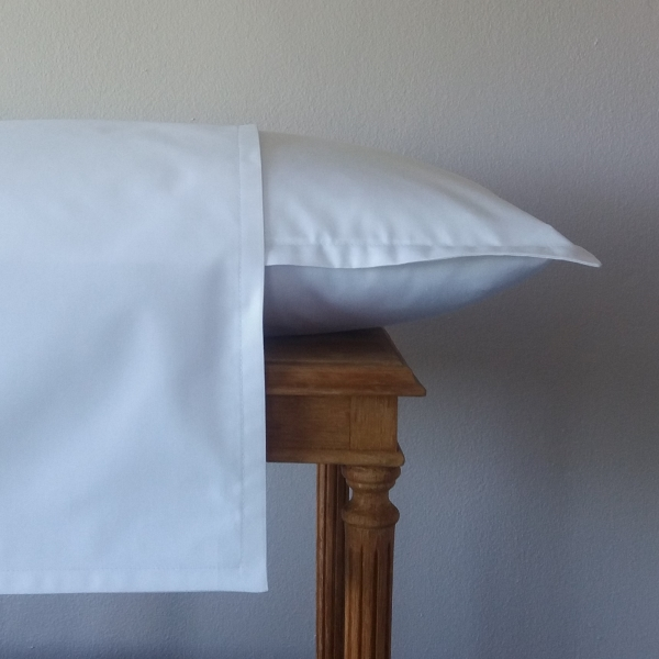 Signature Collection - Narrow Oxford Pillowcases (2) - White