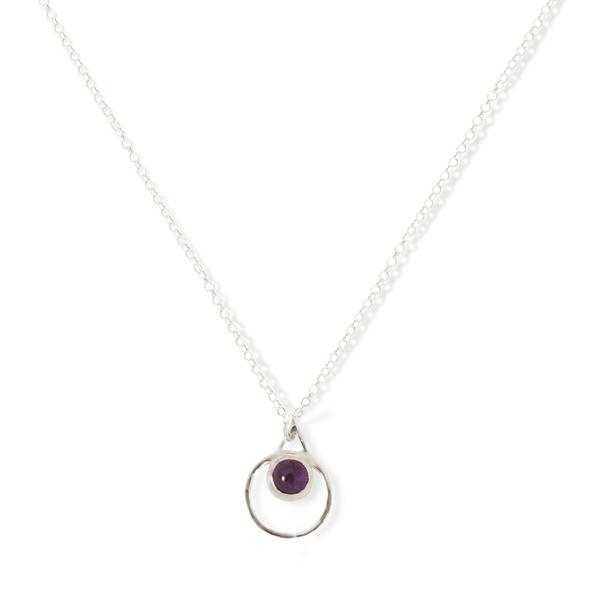 Small Single Chakra Pendant (Moonstone)