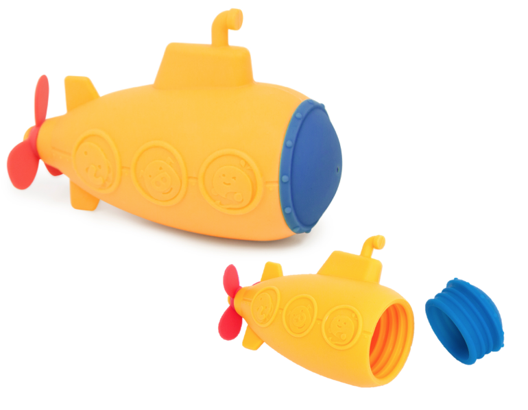 Silicone Submarine Bath Squirt