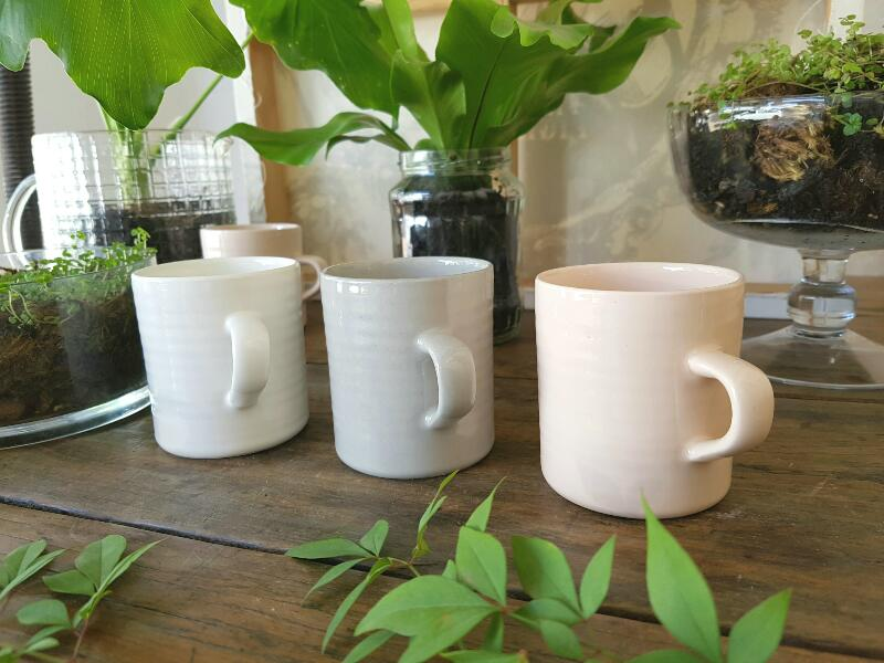 The perfect size mug for coffee or your afternoon tea! 