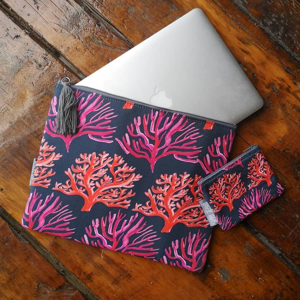Coral Laptop bag