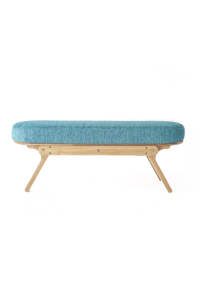 Mlik Double Cream Bench
