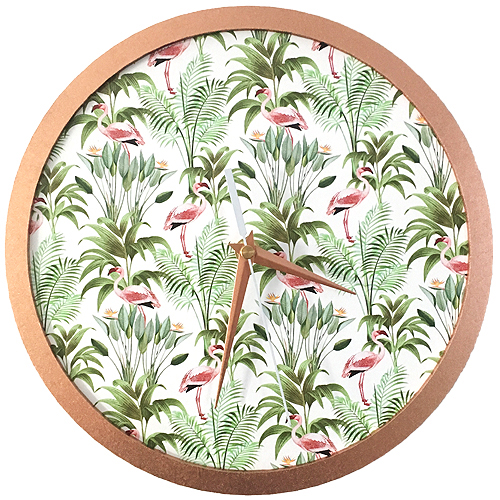 Flamingle Wall Clock