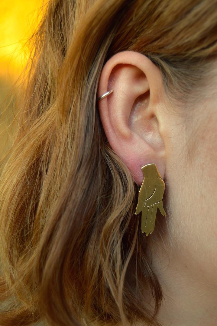 Hand Earring
