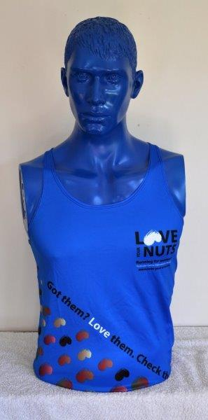Nuts Running Vest - Blue