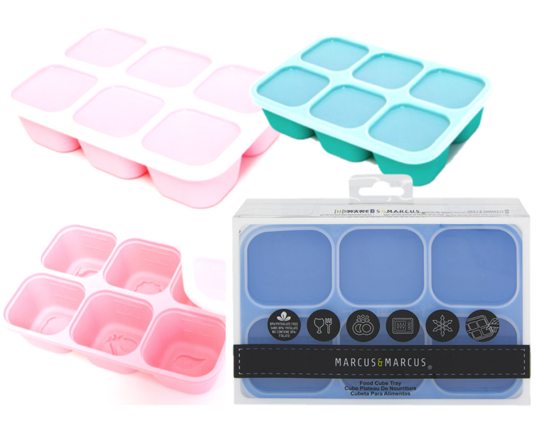 Food preparation is now a breeze with our multi portion Food Cube Trays!