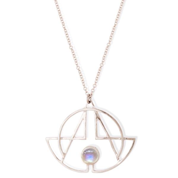 Silver Chakra Pendant