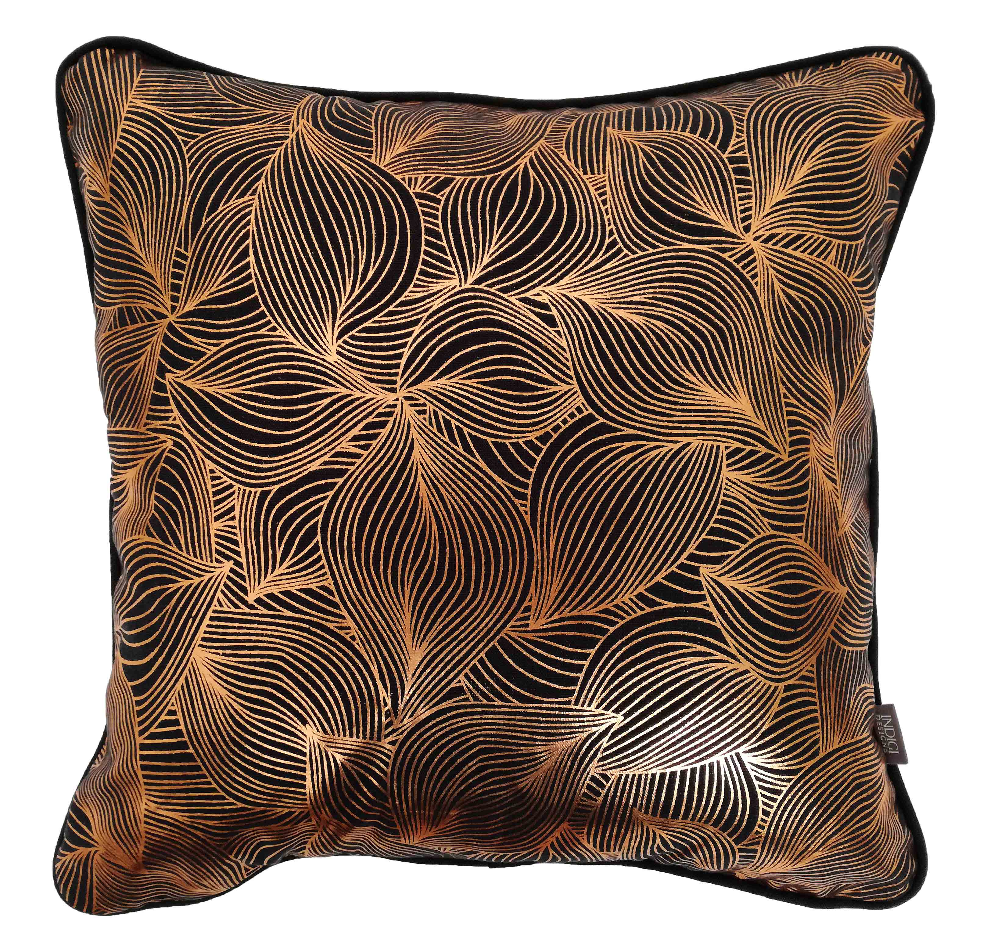 Copper, Gold & Silver Foiling Cushion Covers (View All)