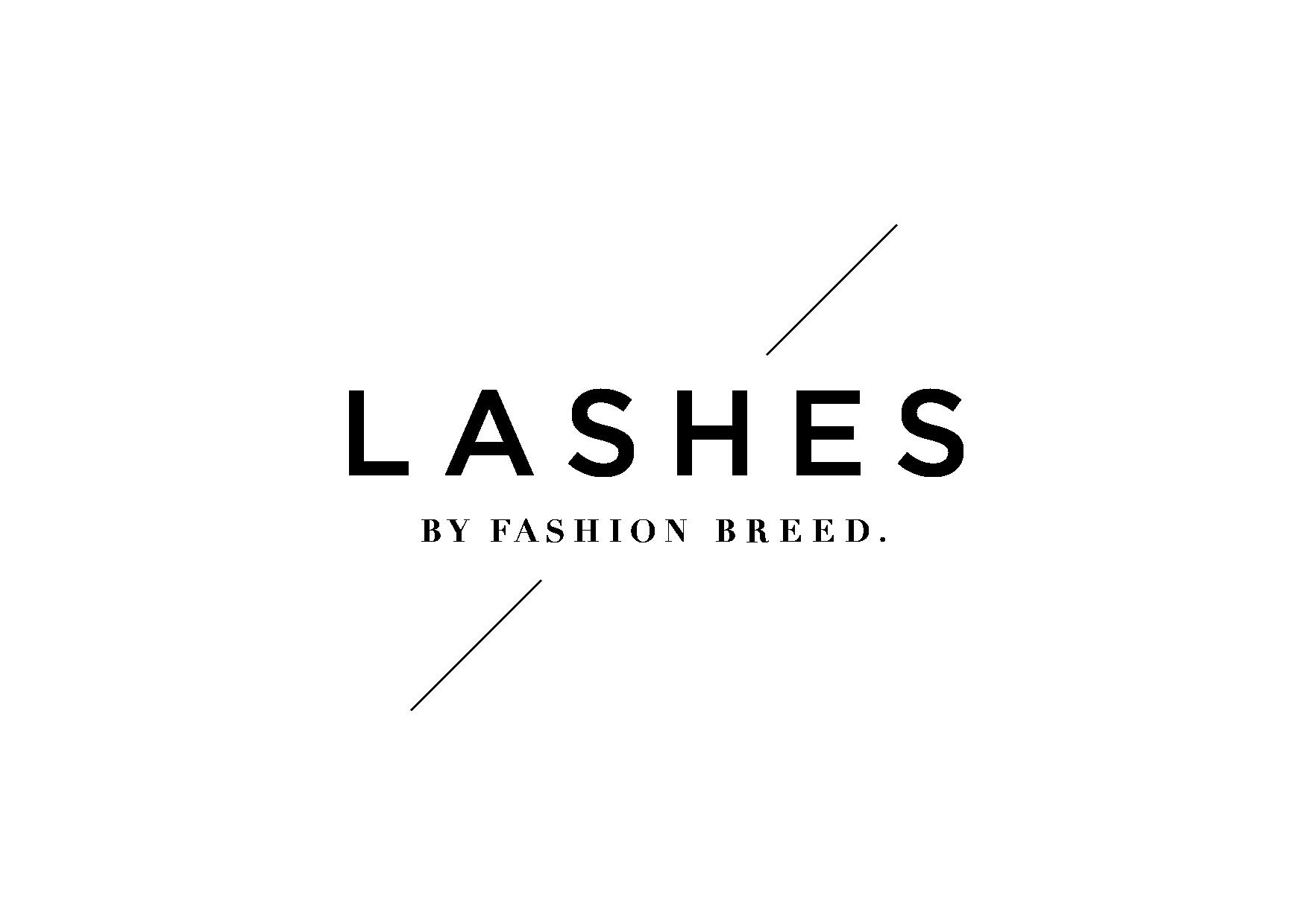 Fashion breed lashes logo 04