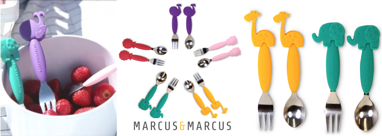 Toddler fork   spoon set slider