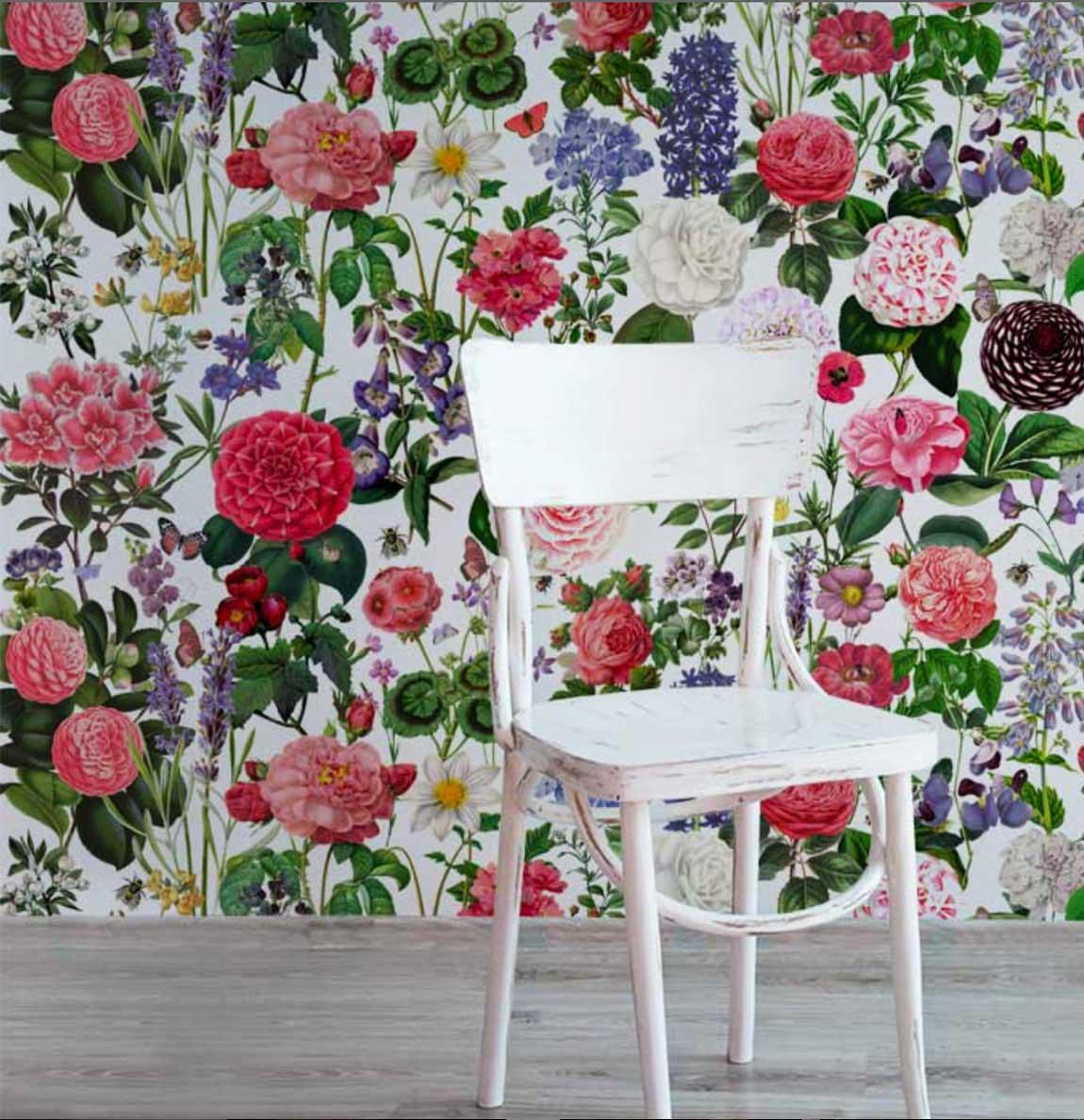 Wallpaper english garden
