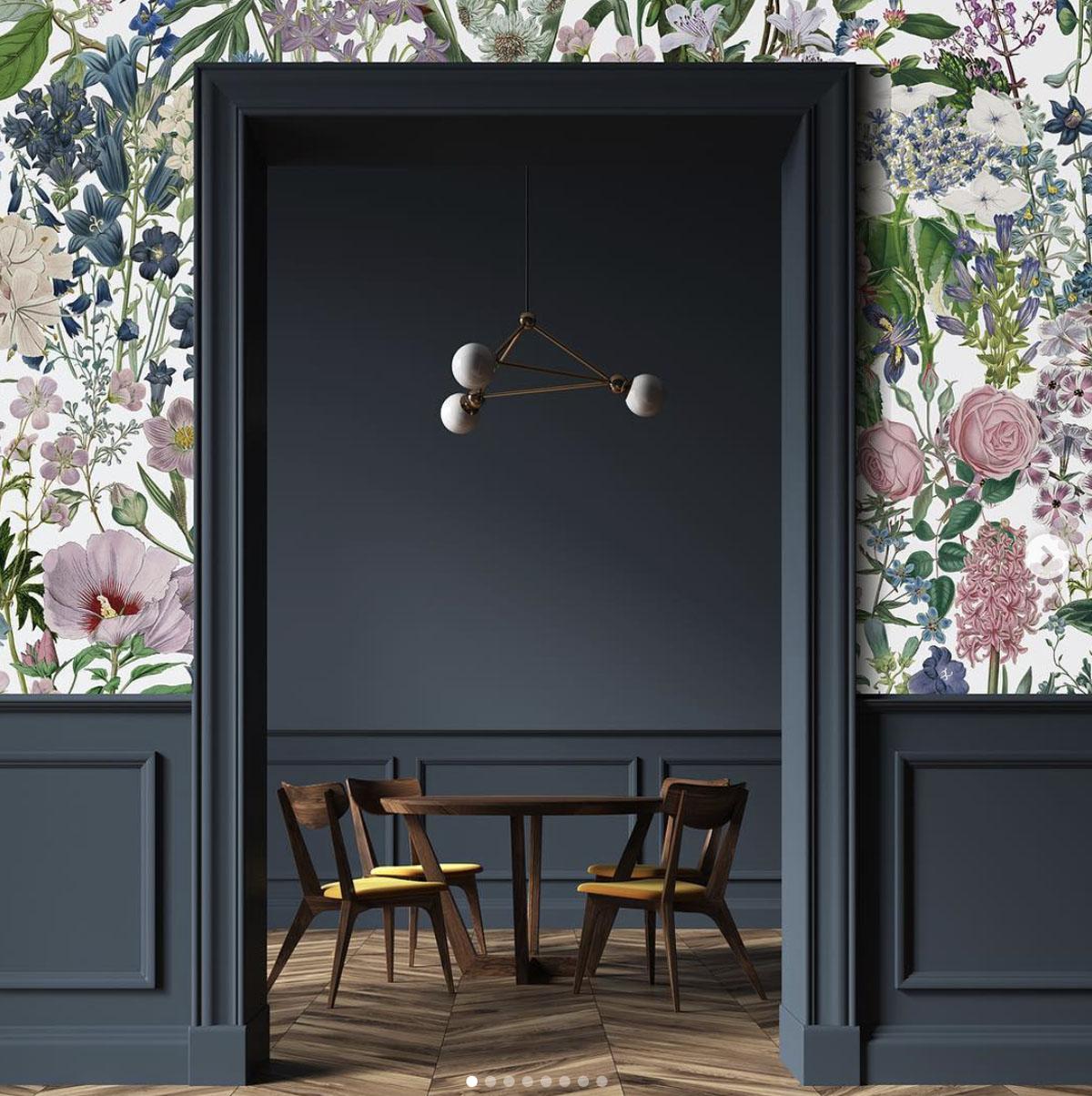 Wallpaper pansies