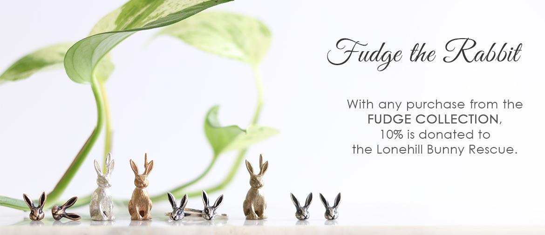 Fudge the rabbit