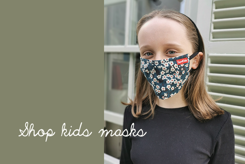 Kid masks slider