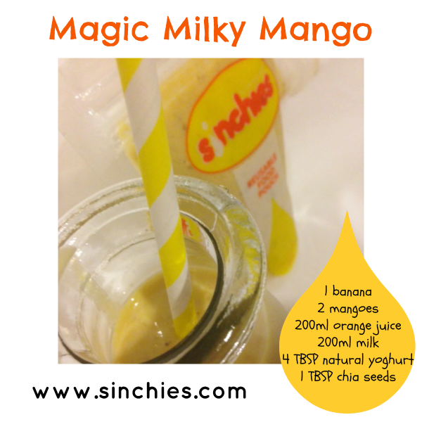 Magic milky mango sinchies reusable food pouch recipes 600x600