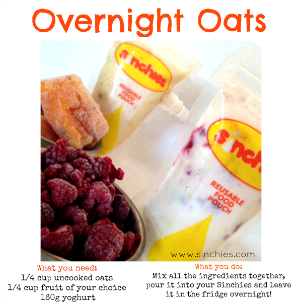 Overnight oats sinchies reusable food pouch recipes 600x600