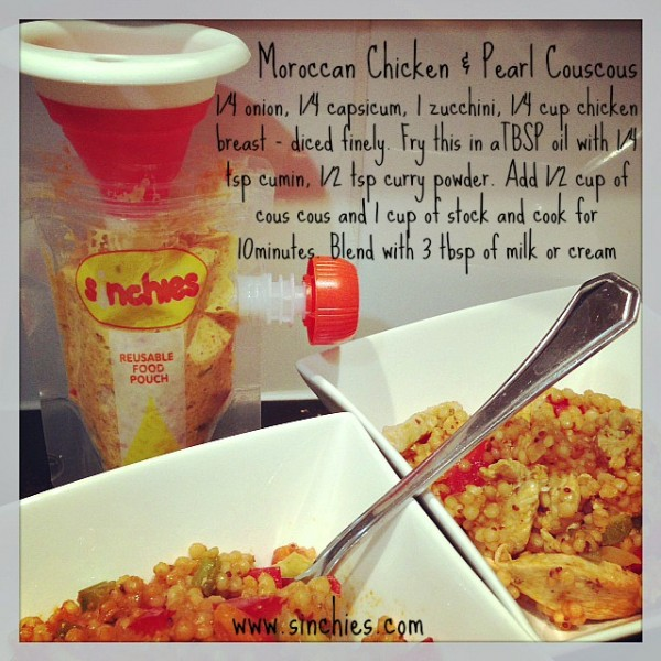 Moroccan chicken with pearl couscous 600x600