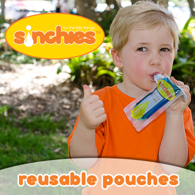 Jelly sinchies reusable pouches