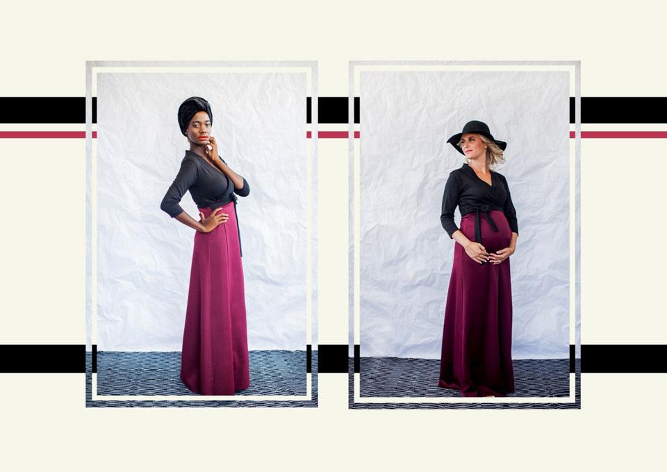4 maxi wrap dress