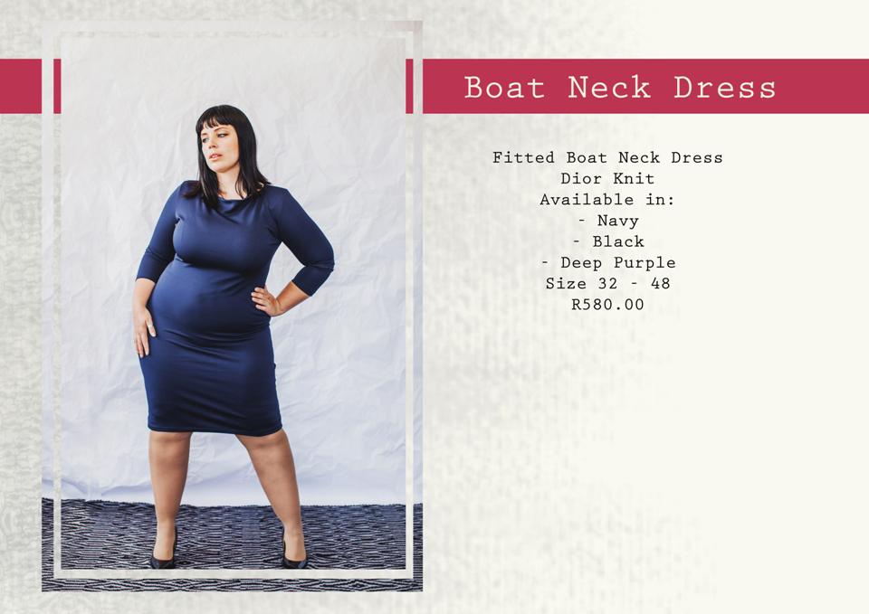7  boatneck dress