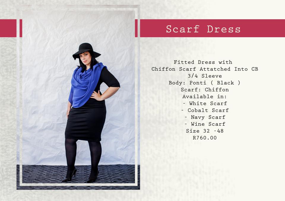 9 scarf dress
