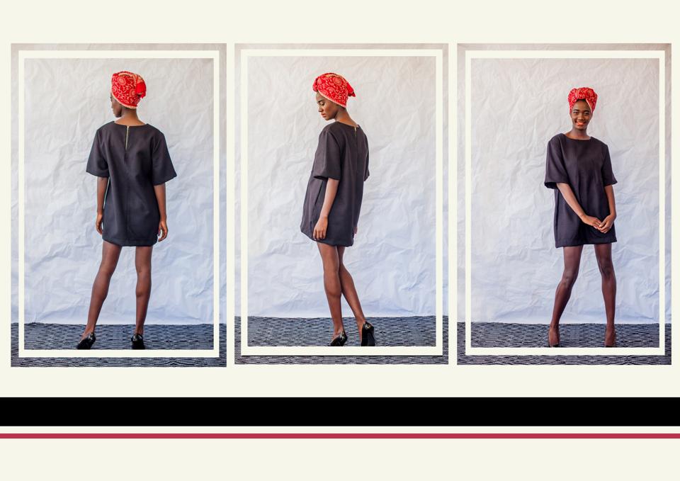 12 panel dress