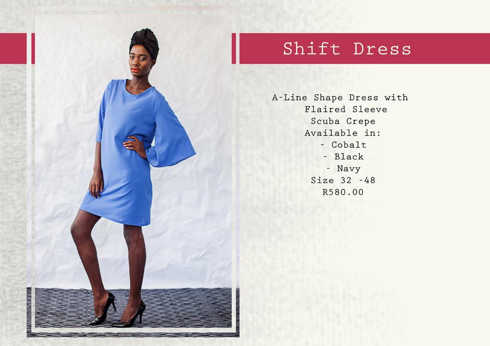 13 shift dress