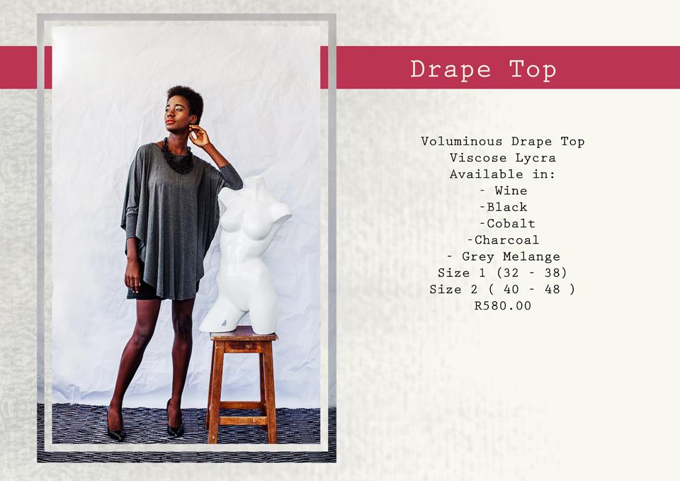 22 drape top