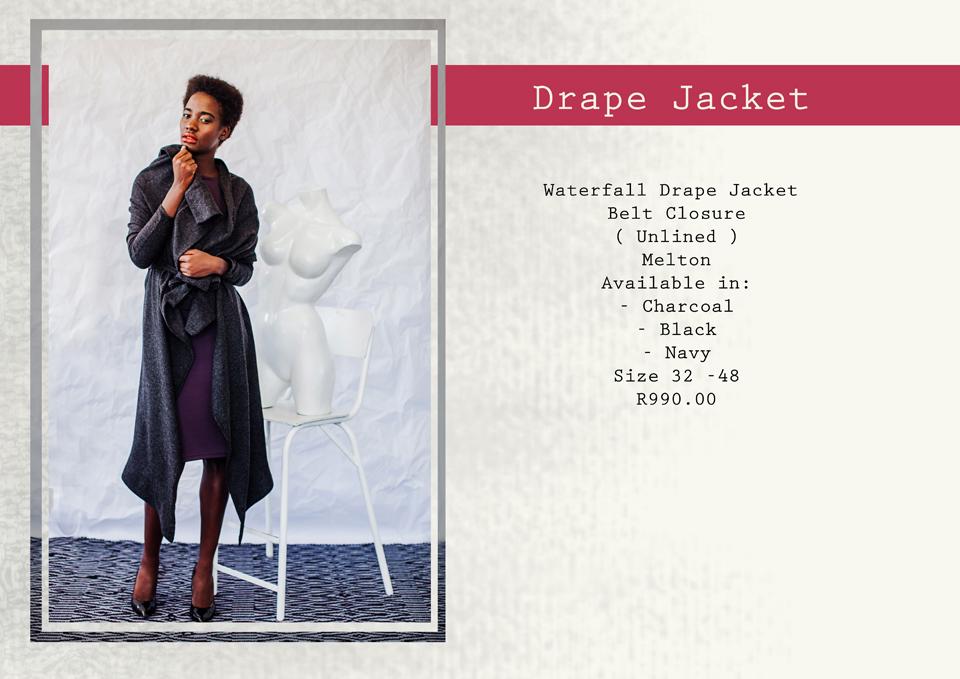 26 drape jacket