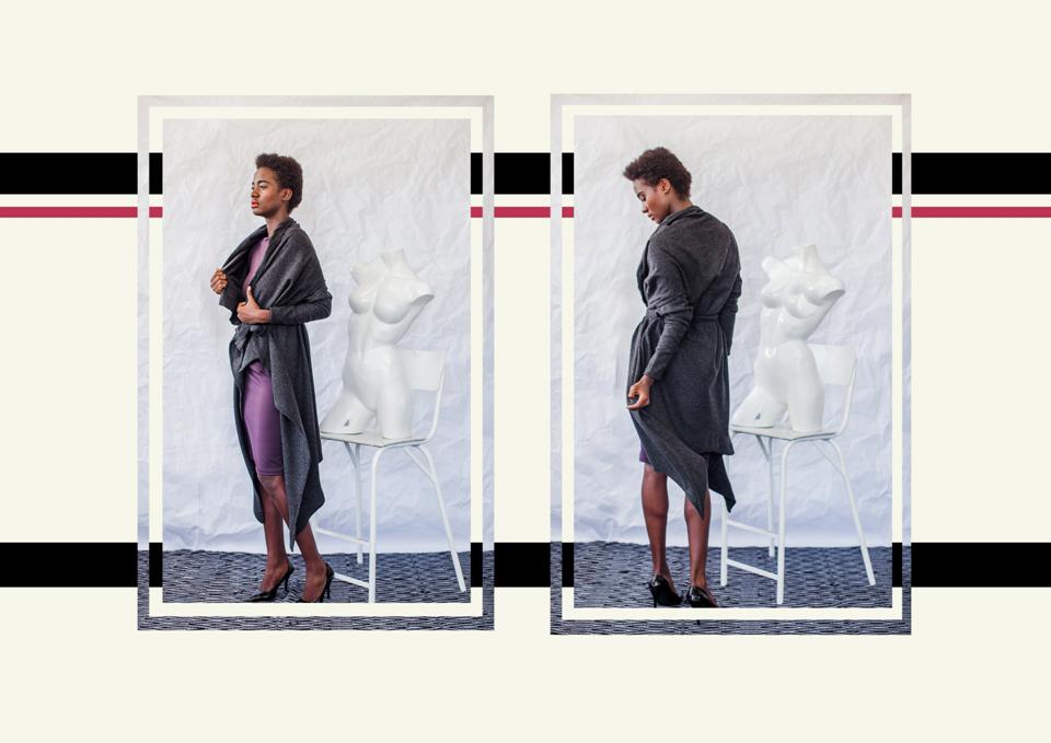 28 drape jacket
